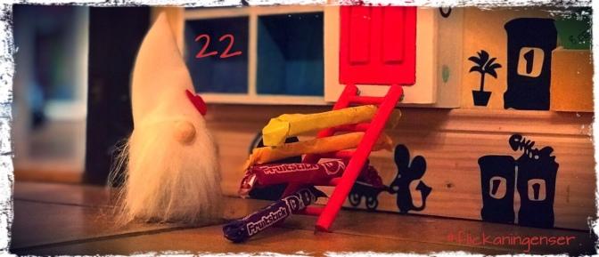Lucka 22 – Julvarelsen som fick en alldeles särskild uppgift