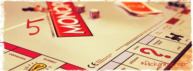 Lucka 5 – spela Monopol kan också vara skola
