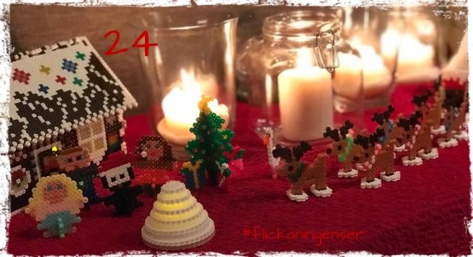 Lucka 24 – Så blev det jul även i år